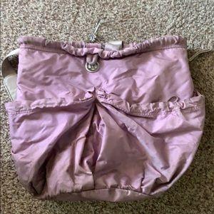 Lululemon lilac duffel bag